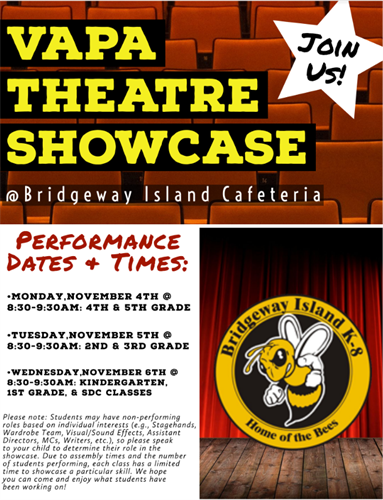 VAPA Theatre Showcase